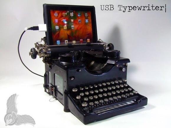 Máquina de escribir para dispositivos USB
