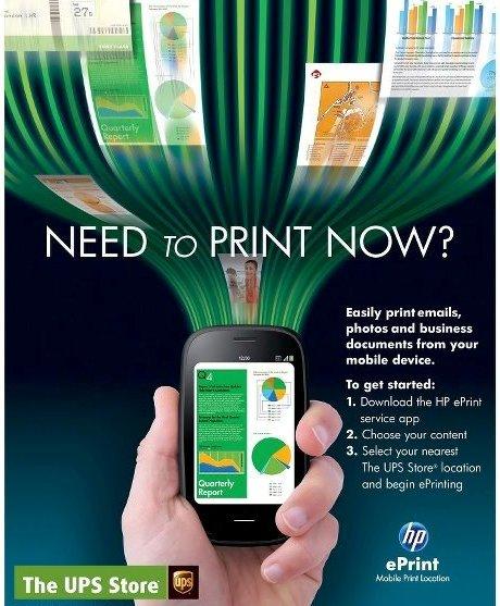 HP y The UPS Store ayudan a los clientes a imprimir mientras viajan