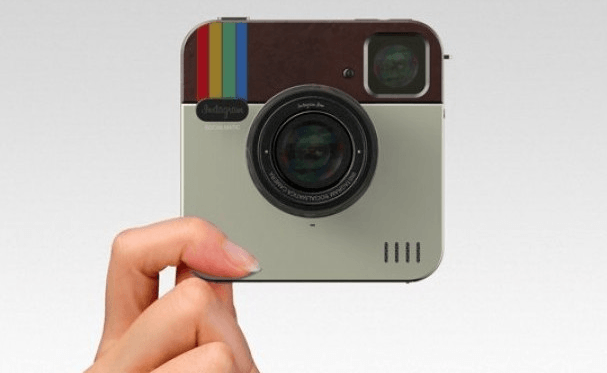 Socialmatic Camera, un prototipo de cámara digital con el diseño Instagram