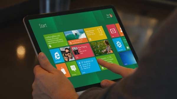 Tablets de Intel con Windows 8 llegarían en el mes de noviembre