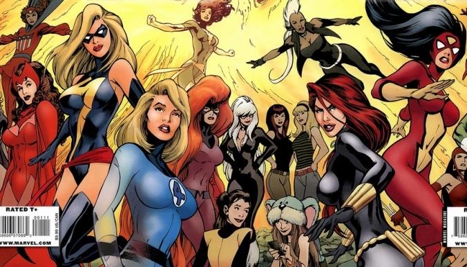 Galeria de Super Heroínas Sexy al estilo Pin-Up