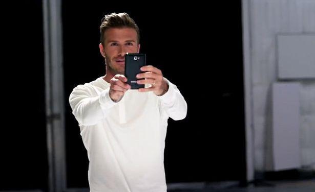 Samsung y David Beckham se unen para promocionar el Galaxy Note en las Olimpiadas de Londres