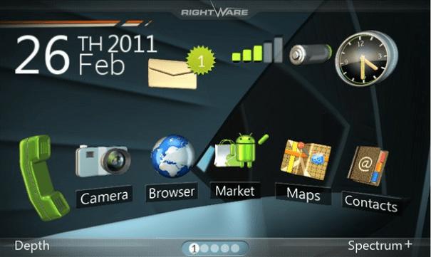 Móviles ZTE serán personalizados con la interfaz 3D Kanzi UI