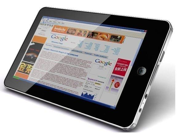 Google empezaría la venta de su tablet en julio