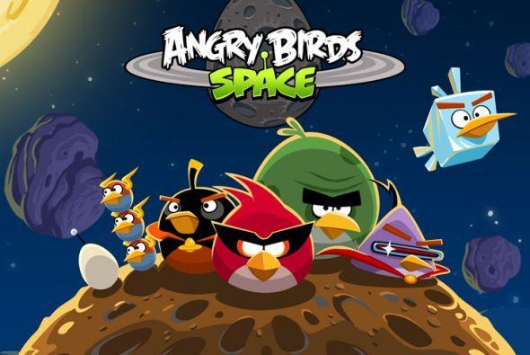 Angry Birds Space paso meta de los 100 millones de descargas