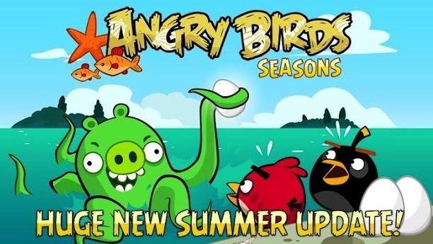 Angry Birds Seasons, ahora en las profundidades del mar