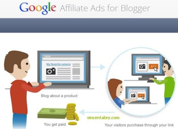 Programa de afiliados de Google para usuarios de Blogger