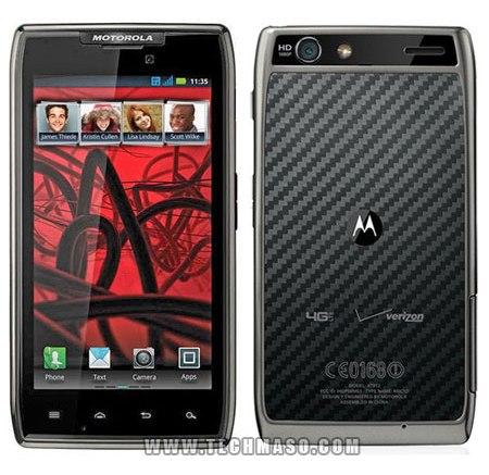 El Motorola RAZR MAXX vende más que el iPhone 4S