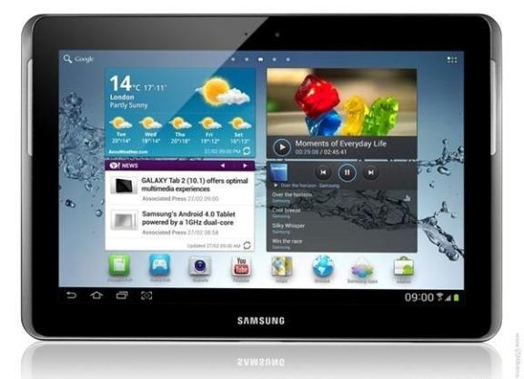 Las Samsung Galaxy Tab recibirán pronto actualización a Android Ice Cream Sandwich