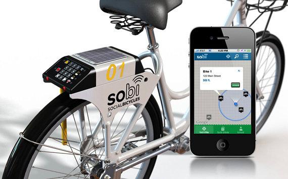 Social Bicycle, una moderna forma de compartir las bicicletas