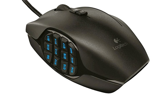 Mouse Logitech G600, con 20 botones disponibles