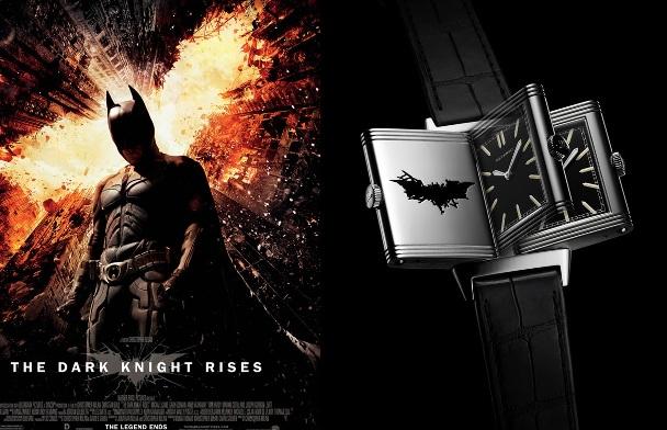 Jaeger-LeCoultre lanza nuevo reloj como tributo a The Dark Knight Rises