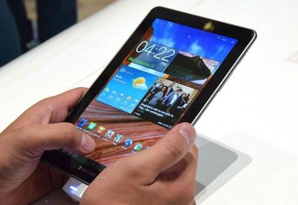 Apple consigue bloquear la venta del Samsung Galaxy Tab 7.7 en territorio europeo
