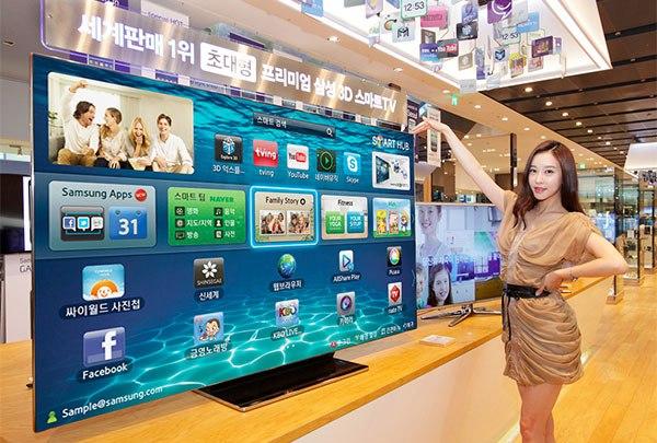 Samsung ES9000, el nuevo Smart TV de 75 pulgadas