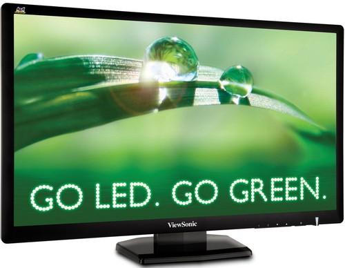 ViewSonic VX2703mh-LED: Monitor de 27 pulgadas, sonido envolvente y diseño ecológico