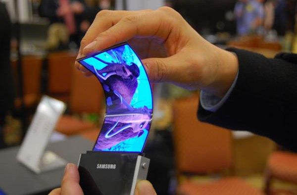Las pantallas flexibles son el futuro de los dispositivos electrónicos
