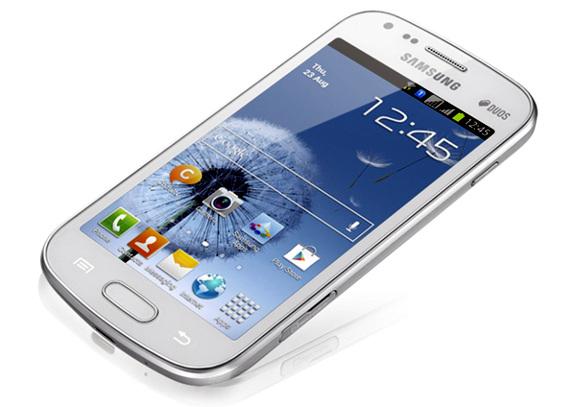 Galaxy S Duos, un smartphone similar al Samsung Galaxy SIII pero con doble SIM