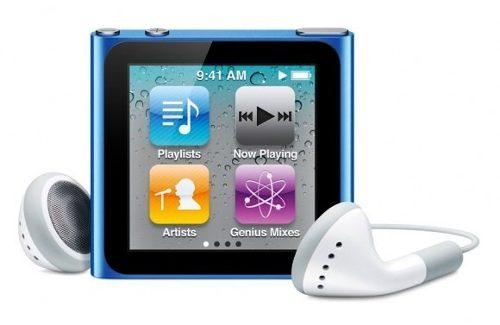 Futura iPod Nano tendrá conectividad WiFi y soporte para iTunes Music Cloud