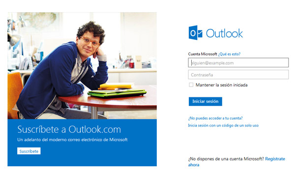 Outlook.com: Un millón de usuarios registrados en tan solo 24 horas