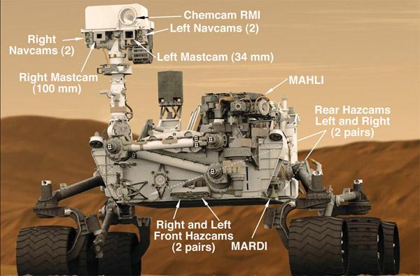 La NASA aplica tecnología de avanzada en su robot Curiosity