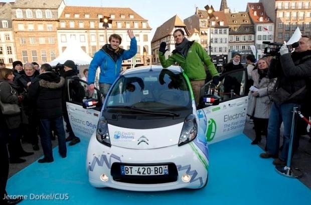 Odyssey Electric, el coche eléctrico de Citroën continúa su vuelta al mundo