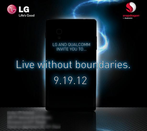 LG y Qualcomm anuncian evento este 19 de setiembre para presentar un nuevo Smartphone