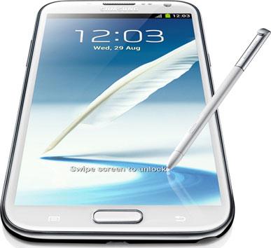Samsung planea lanzar el Note II en octubre próximo