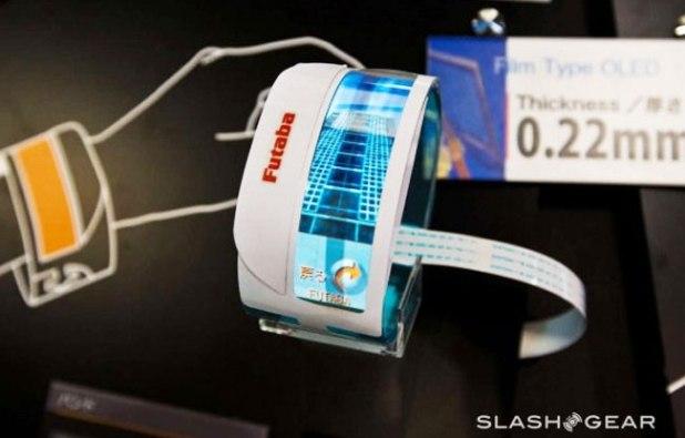 Pulseras con pantallas flexibles, los nuevos smartphones del futuro