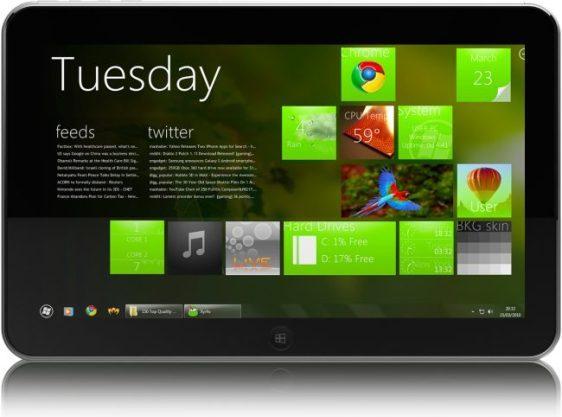 ZTE V98, una potente tablet con Windows 8