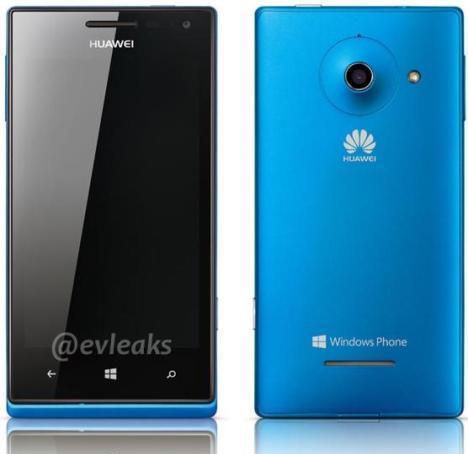 Imágenes de prensa del smartphone Huawei W1