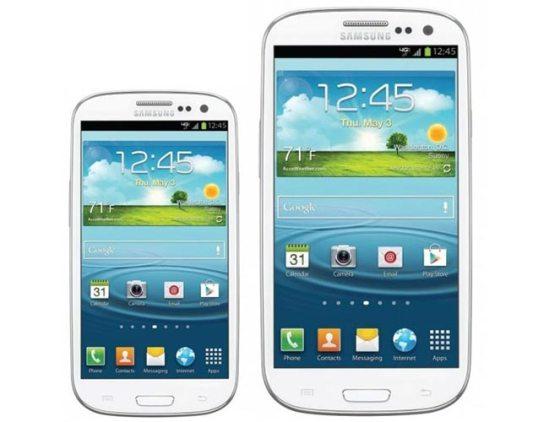 Samsung estaría planeando en lanzar un Mini Galaxy SIII