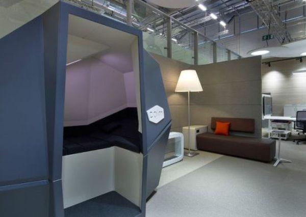 CalmSpace: innovadora cápsula para hacer la siesta en la oficina