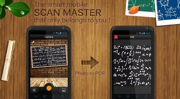 Scan Master: Un completo escáner de documentos para Android