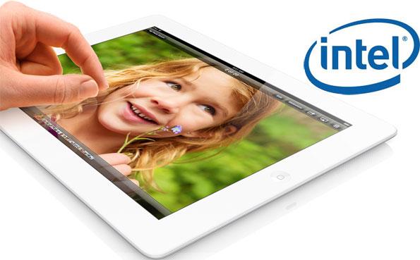 Apple utilizaría procesadores Intel en sus futuros dispositivos móviles