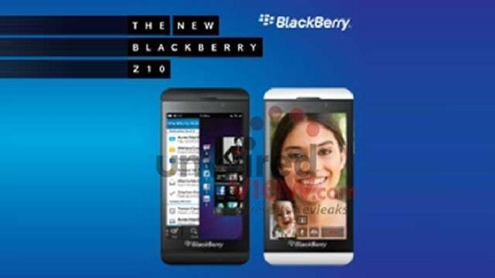 BlackBerry Z10, RIM nos presenta el primer smartphone BB10