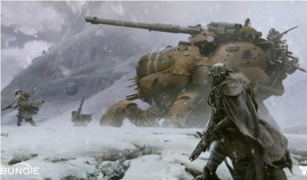 Estudio Bungie muestra la primera imagen oficial de Destiny