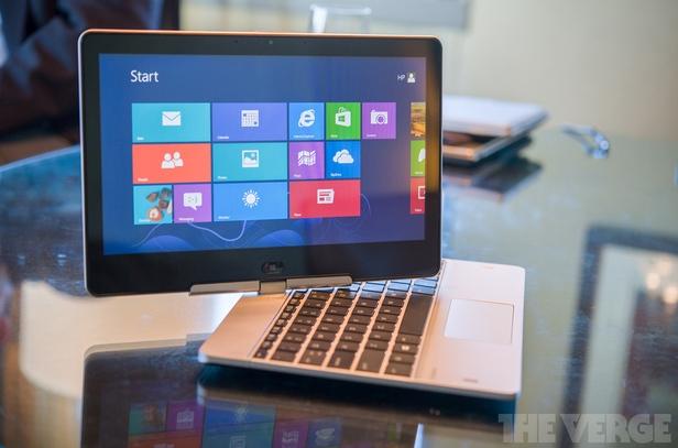 HP EliteBook Revolve, una portátil convertible orientada al mundo corporativo