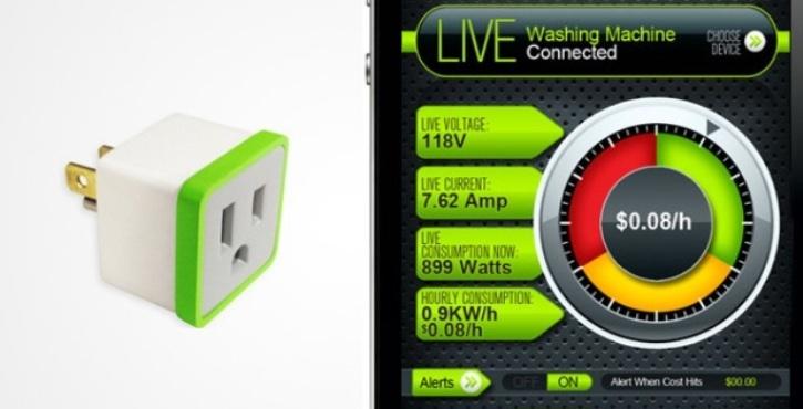 MeterPlug: Enchufe que calcula cuánta energía consumen los dispositivos que le conectas
