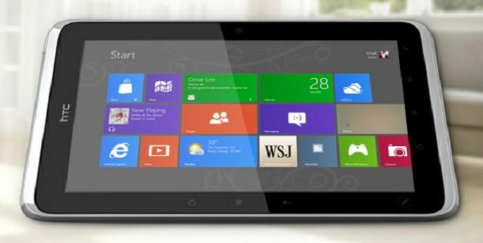 "HTC y sus futuras tablets de 7 y 12"" con Windows RT para el 2013"