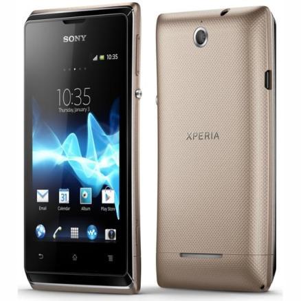 Bean El nuevo Sony Xperia E se comercializa con Android 4.1 Jelly