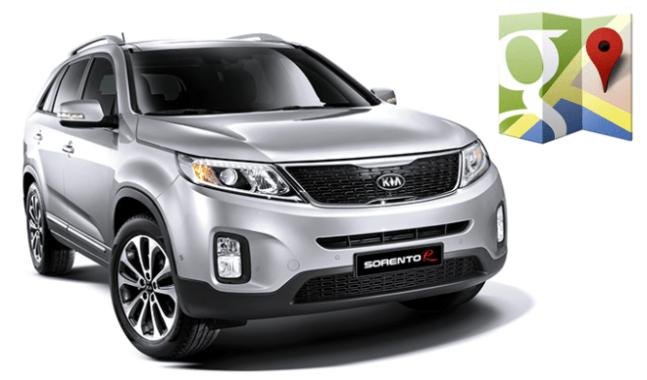 Google Maps se integrara próximamente en los futuros autos de Kia y Hyundai