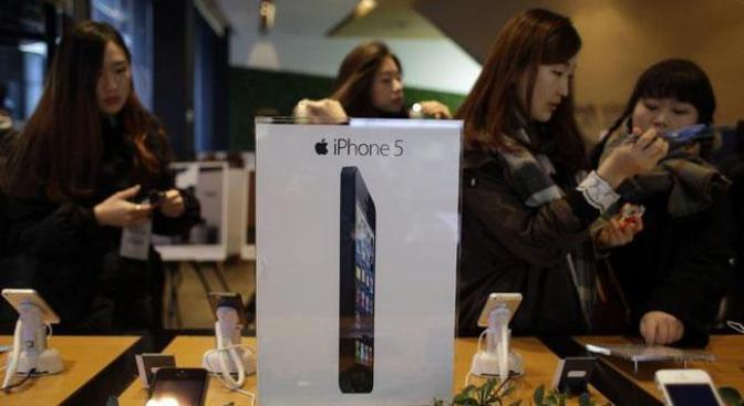 ¿Se ha estado vendiendo el iPhone 5 en Corea del Sur por 140 euros?