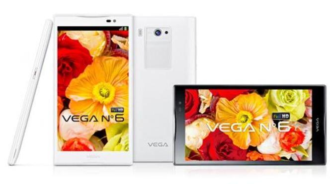 Smartphone Pantech Vega No. 6 es anunciado oficialmente