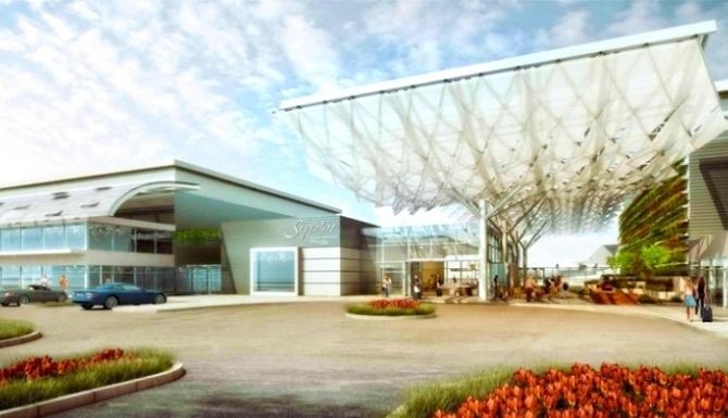 El futuro aeropuerto de Google ya es una realidad