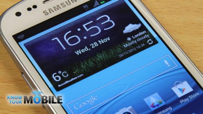 Características del Samsung Galaxy S3 Mini