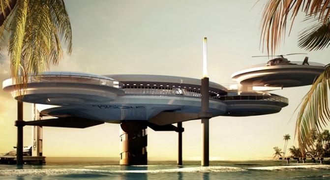 The Water Discus: el hotel subacuático más grande del mundo