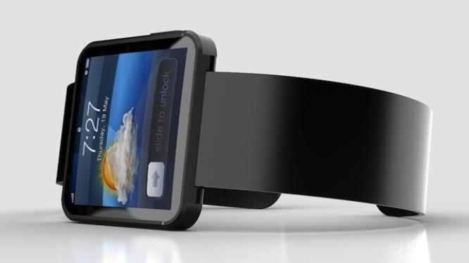 Concepto iWatch donde se muestra cómo podría lucir el futuro reloj de Apple