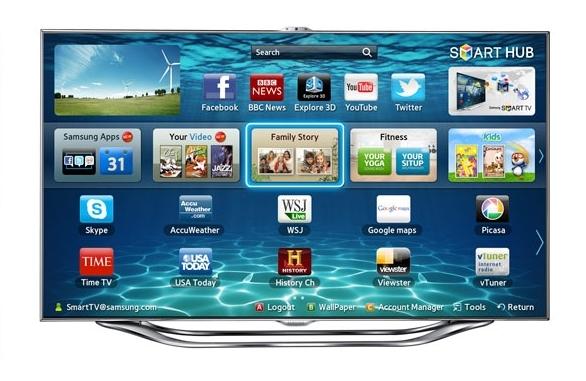 Adiós al control remoto con los nuevos Smart TV de Samsung