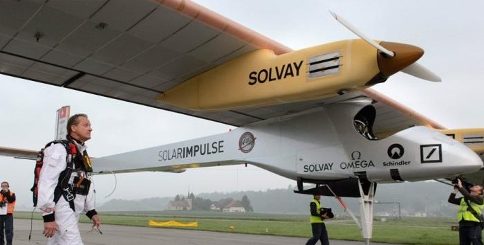 El Avión Solar Impulse volara por los EE.UU. previo a su viaje alrededor del mundo