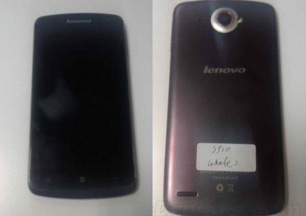 Lenovo S920, un phablet con quad core y buena pantalla